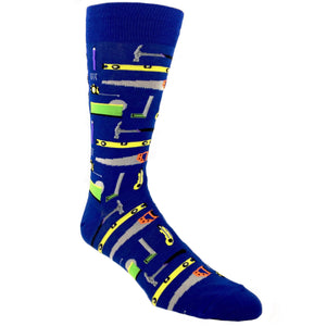 Socks - Tools Of The Trade Socks - Blue
