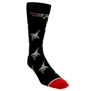 Top Gun Jets Men's Socks by Cool Socks - The Sock Spot