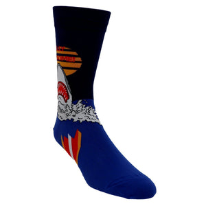 Totally Jawsome! Men's Socks by Sock it to Me - The Sock Spot