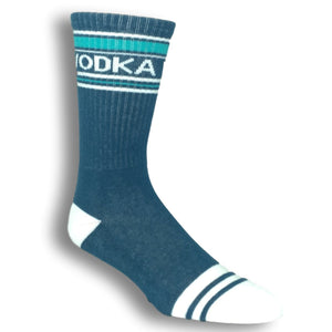 Socks - Vodka Athletic Socks Made In The USA By Gumball Poodle