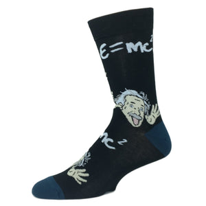 Wacky Einstein Socks by Good Luck Sock - The Sock Spot