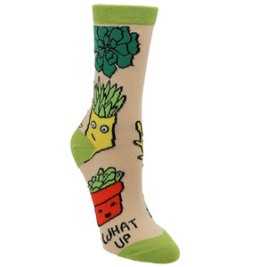 Socks - What Up Succa Women's Socks By Oooh Yeah Socks