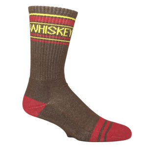 Whiskey Athletic Socks Made In The USA by Gumball Poodle - The Sock Spot