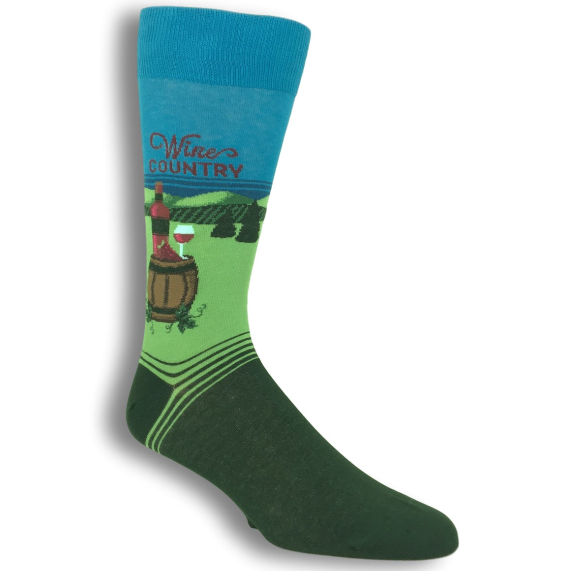 Wine Country Socks by Hot Sox - The Sock Spot