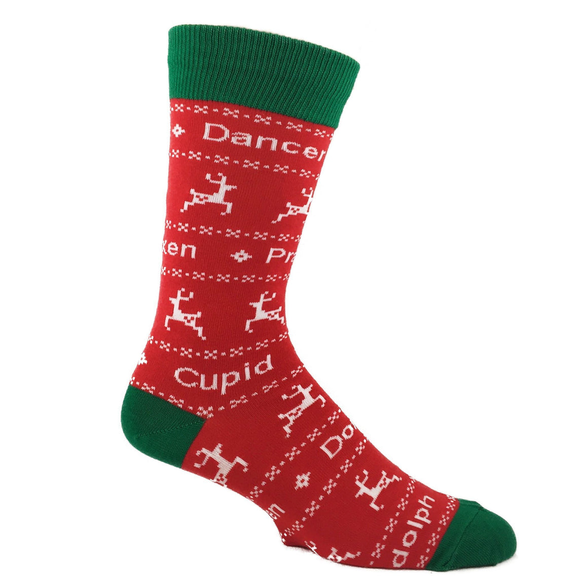 Socks - You Know Dasher And Dancer... Christmas Socks