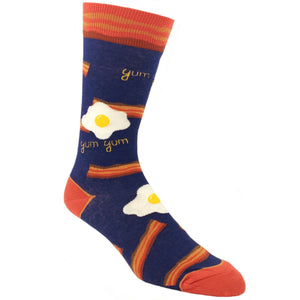 Yum Yum Bacon and Eggs Socks by Foot Traffic - The Sock Spot