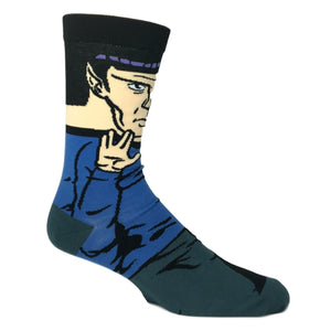 Star Trek Spock 360 Socks - The Sock Spot