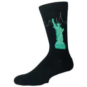 Statue of Liberty Socks - Made in America by K.Bell - The Sock Spot
