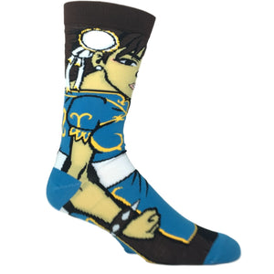 Street Fighter Chun Li 360 Socks - The Sock Spot