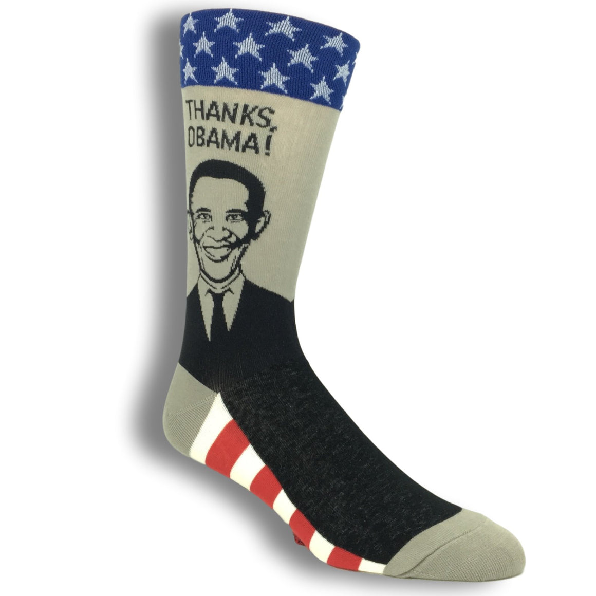 Thanks Obama Socks by Foot Traffic - The Sock Spot
