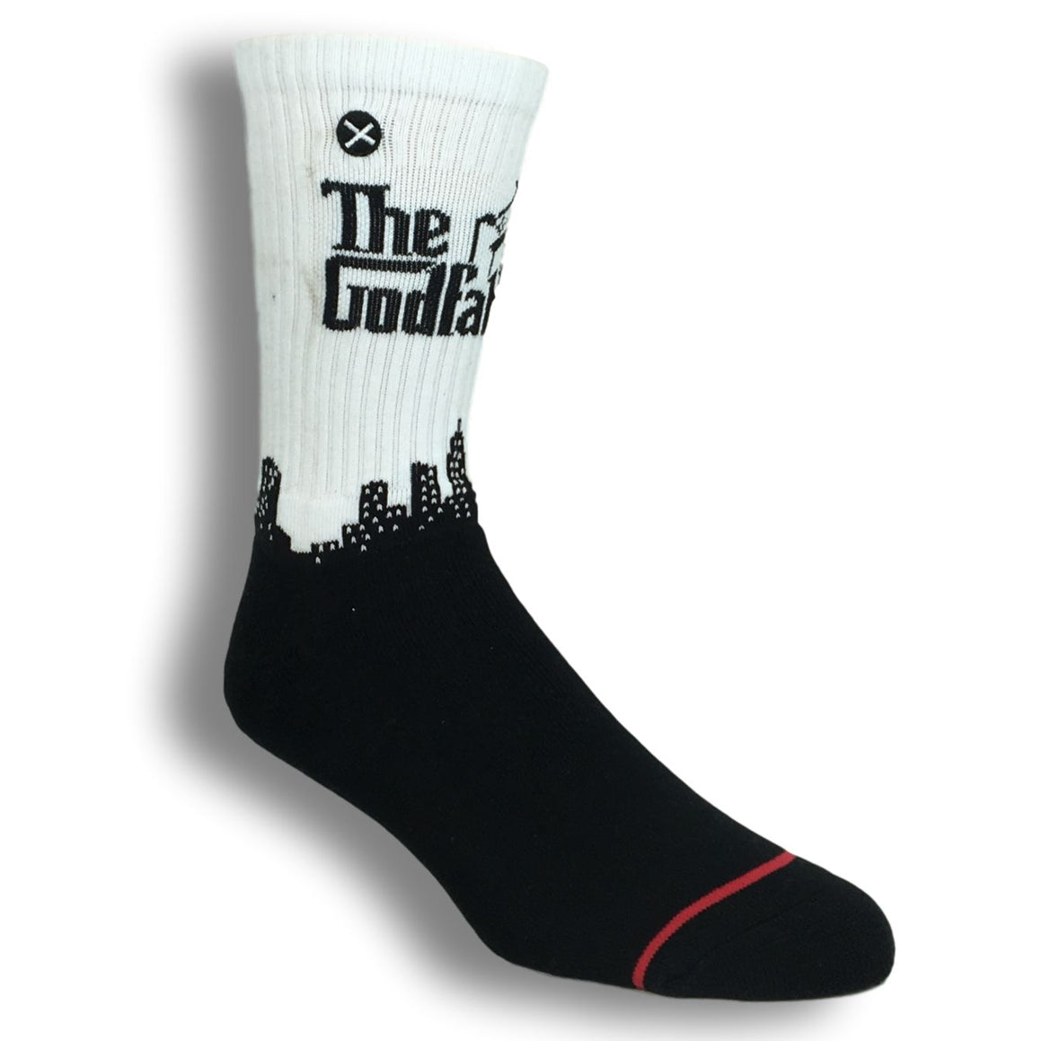 The Godfather Logo Athletic Socks by Odd Sox - The Sock Spot