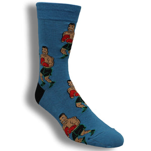Tyson Punch-Out!! Socks By Good Luck Sock