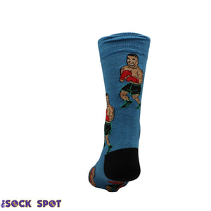 Tyson Punch-Out!! Socks by Good Luck Sock - The Sock Spot