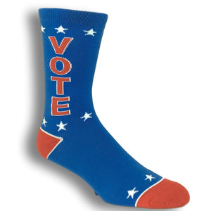 Vote Red White And Blue Socks By Gumball Poodle