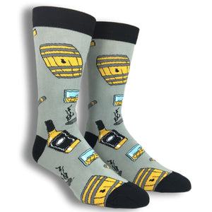 Whiskey Me Socks by Oooh Yeah Socks - The Sock Spot