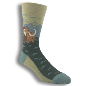 Wooly Mammoth Socks by Foot Traffic - The Sock Spot