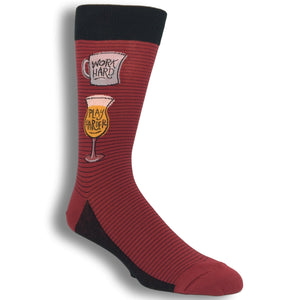 Work Hard Play Harder Socks by Foot Traffic - The Sock Spot
