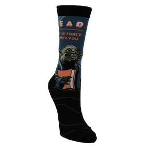 Yoda Read Star Wars Socks - Small - The Sock Spot