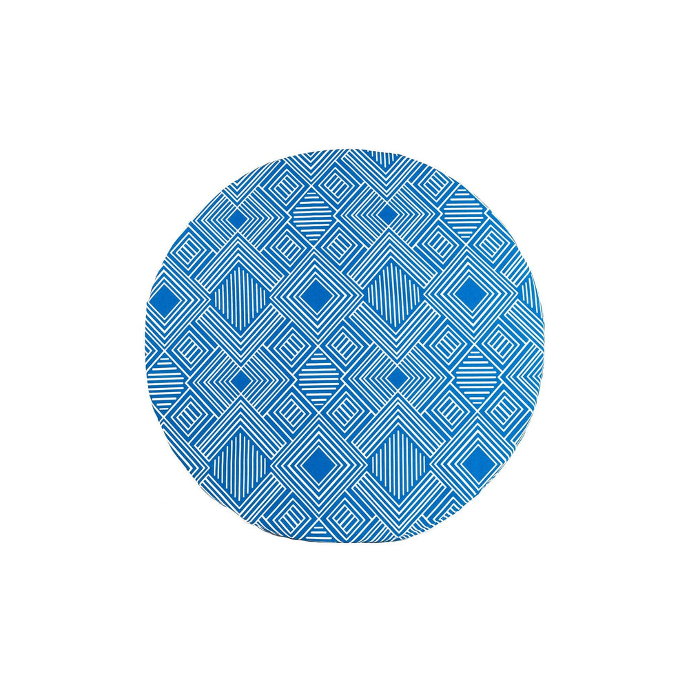 round meditation mat in Deep Phase by Meditation Hardware