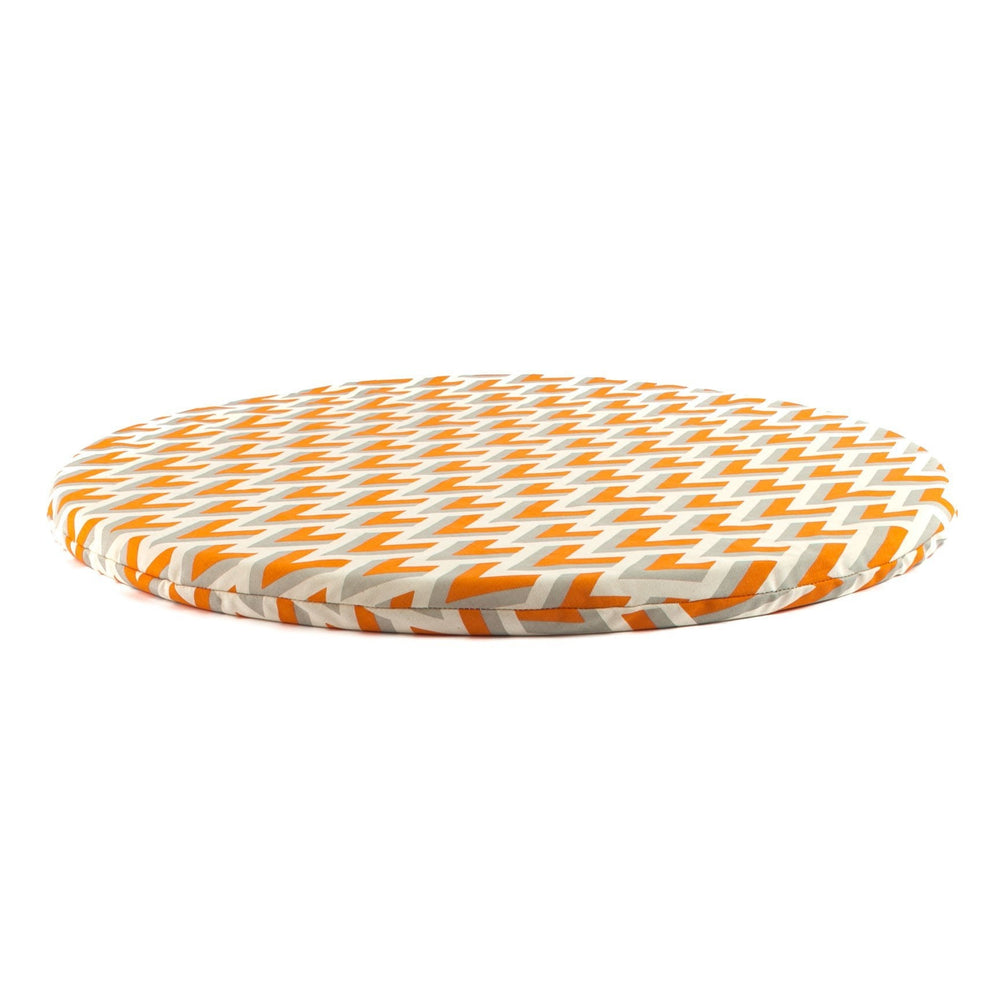 round meditation mat in Horizon by Meditation Hardware