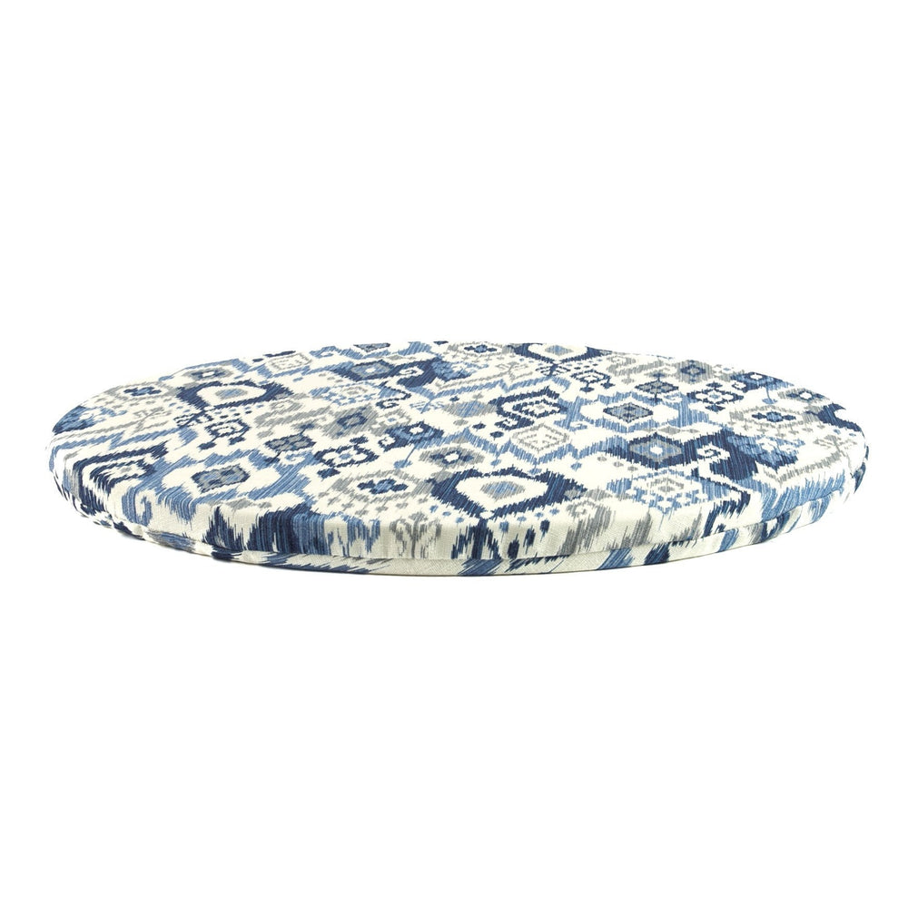 round meditation mat in Moraine by Meditation Hardware