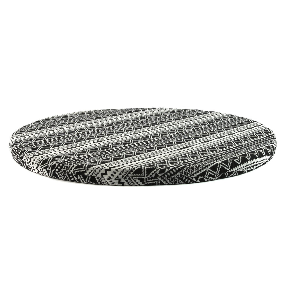 round meditation mat in Rangefinder by Meditation Hardware
