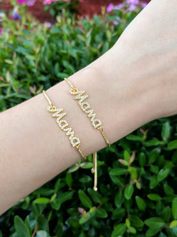 Mother's Day Mama Adjustable Bracelet
