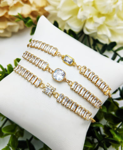 Luxe crystal bracelet-You pick