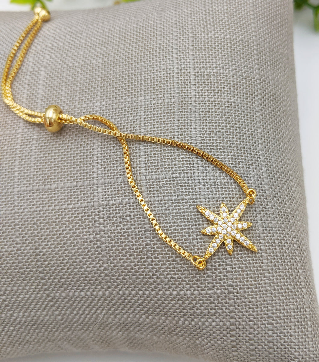 Star Adjustable Bracelet
