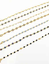 Load image into Gallery viewer, Black & Gold Anklet