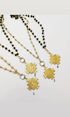 Long St. Benedict necklace