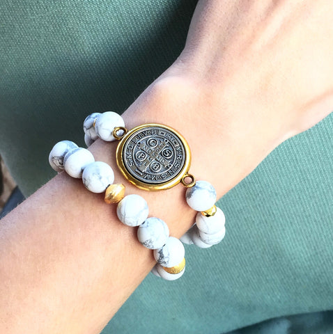 St. Benedict Stack|Marble