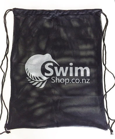 Mesh Gear Bag Black - Swim Shop Custom - swim_shop - Triathlon_shop
