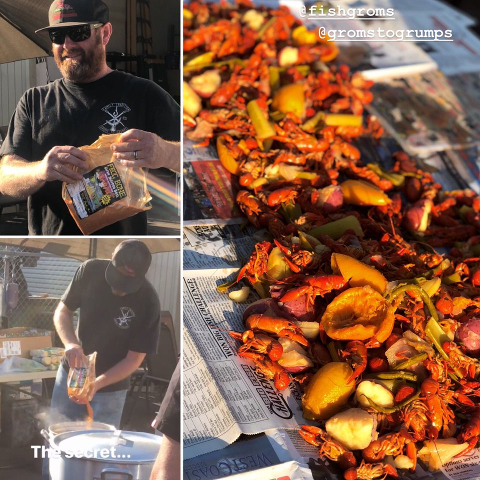 Fishgroms 3rd Annual Crawfish Boil was Epic!