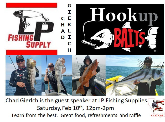 CCA California San Diego Open Meeting at LP Fishing Supply