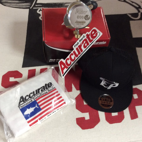 Thank you Accurate Fishing for the awesome raffle donation.
