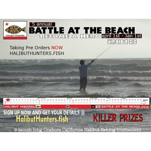 Halibut Hunters Battle of the Beach 2018