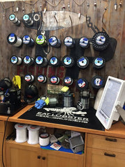LP Fishing Line Wall