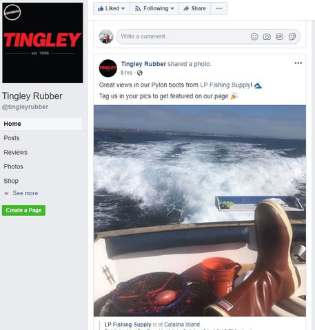 LP Fishing Supply Tingley Boots