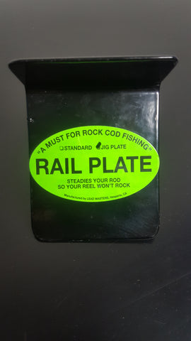 Rod Fish Rail Plate