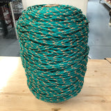 LP Fishing Supply Braided Poly Green/Orange