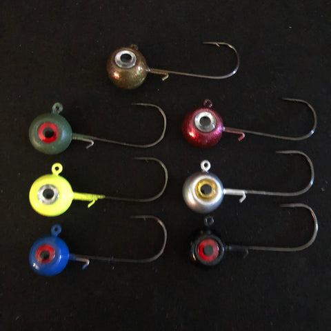 Combat Scout 3/8 & 1/2 Jig Heads