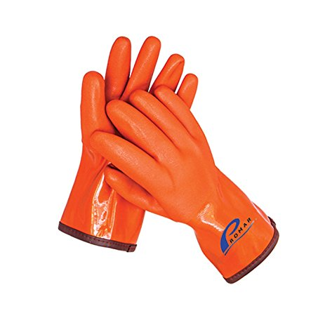 Promar Orange Insulated ProGrip Gloves