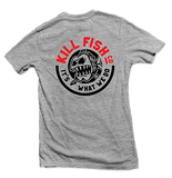 "KILLFISH CO. ""Round"" Heather Grey Pocket T-Shirt"