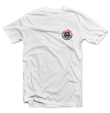 "KILLFISH CO. ""Round"" White T-Shirt"