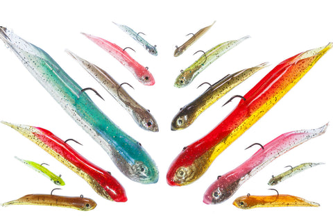 Hookup Baits XL Custom Tube Baits