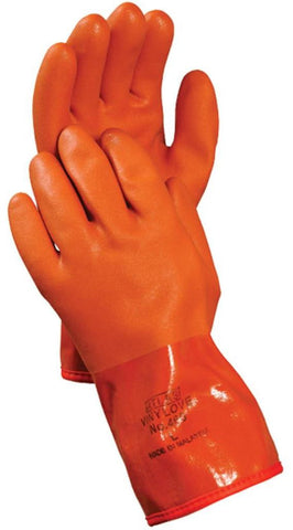 Atlas 460 PVC Cold Weather Orange Gloves