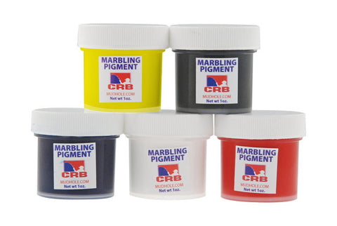 CRB Marbling Pigment Kit (5 colors)