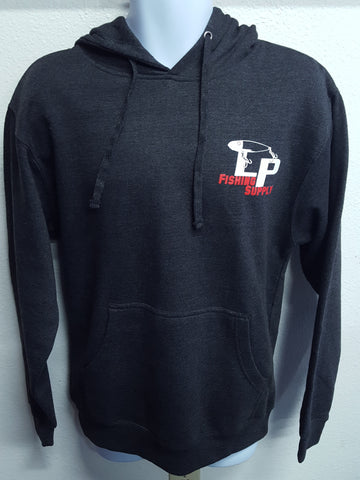 LP Logo Heather Grey Hoodie (Charcoal)