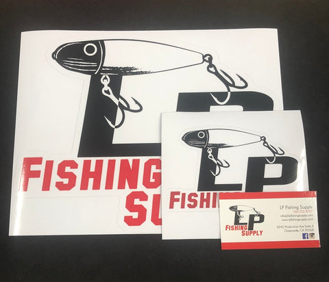 LP Auto and Boat Stickers